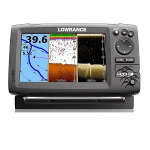 Lowrance Navico Hook 7 with Card Cover Mid High Down Scan
