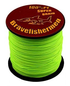 Bravefishermen Super Strong Braided Fishing Line
