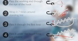 Fisherman's Knot - Improved Clinch Knot
