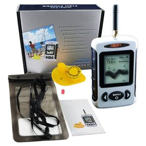Lucky Wireless Portable Sonar Fish Finder