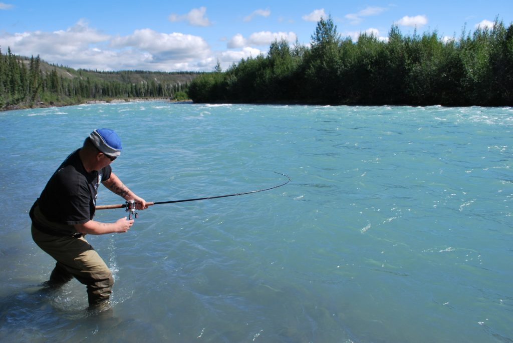 Klutina River Fishig